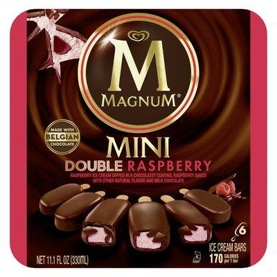 Magnum Ice Cream Mini Double Raspberry