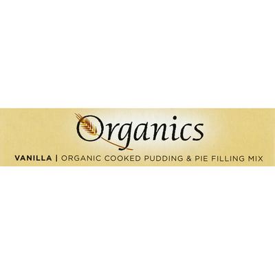 European Gourmet Bakery Cooked Pudding & Pie Filling Mix, Organic, Vanilla