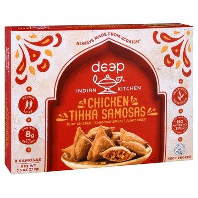 Deep Indian Kitchen Chicken Tikka Samosas, Medium Spice