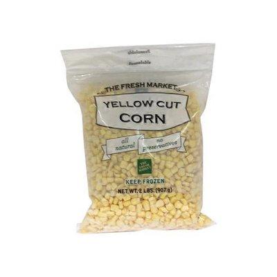 The Fresh Market Frozen Yellow Cut Corn Vegetable