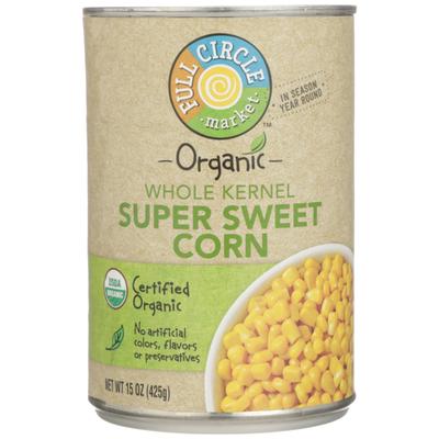 Full Circle Whole Kernel Super Sweet Corn