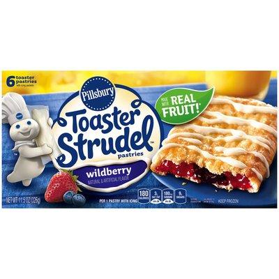 Pillsbury Toaster Strudel Wildberry Toaster Pastries