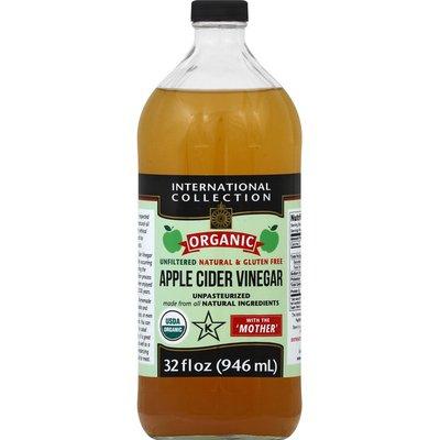 International Collection Apple Cider Vinegar, Unfiltered, Organic