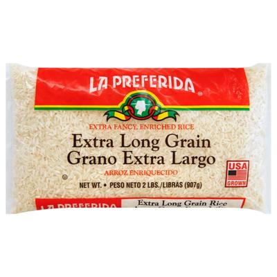 La Preferida Extra Long Grain White Rice (Arroz de Grano Extra Largo)