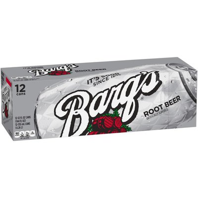 Barq's Root Beer Caffeine Free Soda Soft Drink