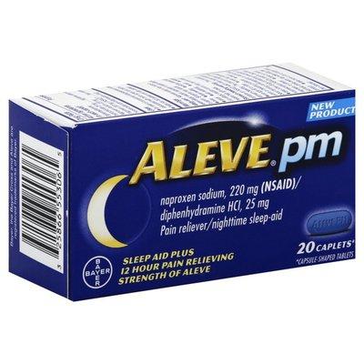 Aleve Sleep Aid Plus, Caplets, PM