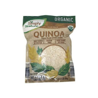 Simply Nature Organic Quinoa Super Grain Of The Andes