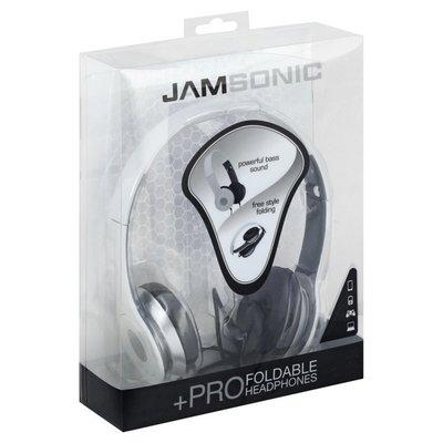 Jamsonic Headphones, Foldable, +Pro