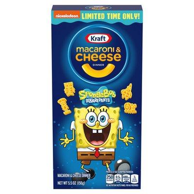 Kraft Spongebob Squarepants Macaroni & Cheese Dinner