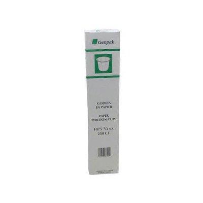Genpak .75 Oz Paper Souffle Squat Portion Cup