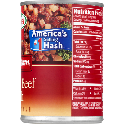 Hormel Homestyle Corned Beef Hash