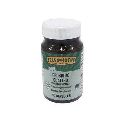 Fresh Thyme Probiotic Quattro Caplets