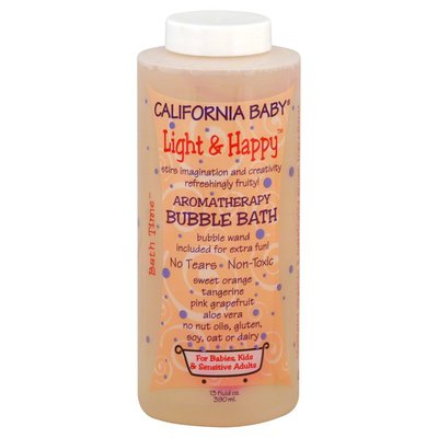California Baby Bubble Bath, Aromatherapy, Light & Happy