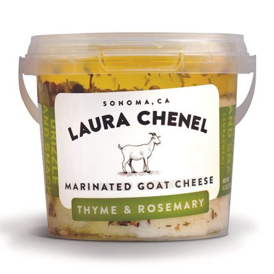 Laura Chenel's Chèvre Thyme & Rosemary Marinated Goat Cheese
