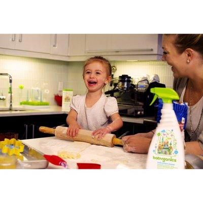 Babyganics Foaming Dish Soap, Pump Bottle, Citrus