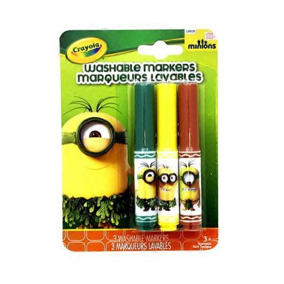 Crayola Prehistoric Minions Washable Pip-Squeaks Markers