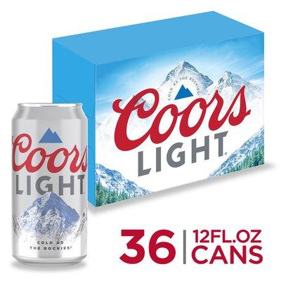 Coors Beer, Lager Beer