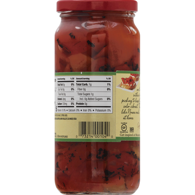 Mezzetta Roasted Red Peppers, California Fresh Pack, Mild