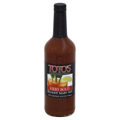 Totos Bloody Mary Mix, Fiery Bold