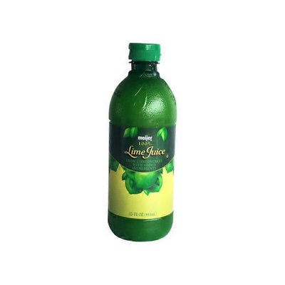 Meijer 100% Lime Juice From Concentrate