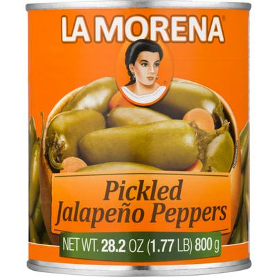 La Morena Pickled Jalapeño Peppers