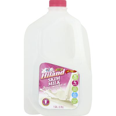 Hiland Dairy Milk, Skim, Fat Free