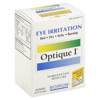 Boiron Optique 1, Single-Use Sterile Doses