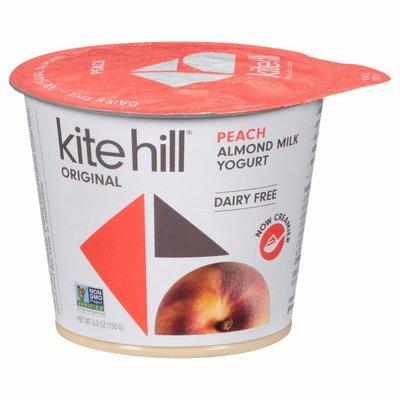 Kite Hill Yogurt, Dairy Free, Original, Almond Milk, Peach