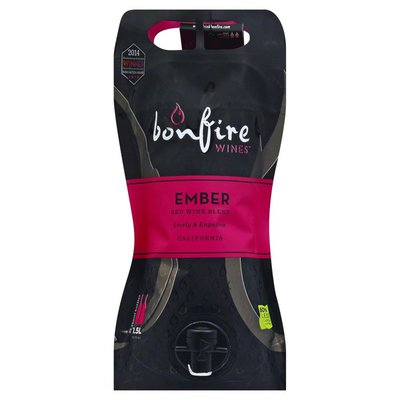 Bonfire Wines Red Wine, Blend, Ember, Table Wine, California