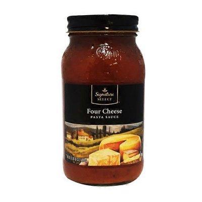Signature Kitchens Pasta Sauce, Four Cheese