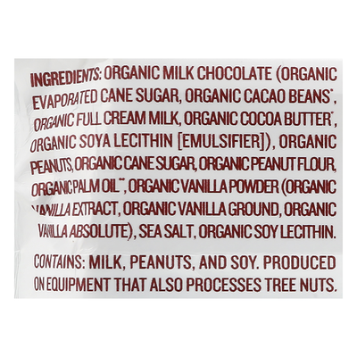Justin's Peanut Butter Cups, Organic, Milk Chocolate