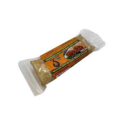 Zara's Vegan Curry Chicken Style Wrap