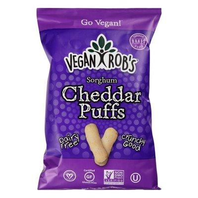 Vegan Rob's Sorghum Puffs, Cheddar