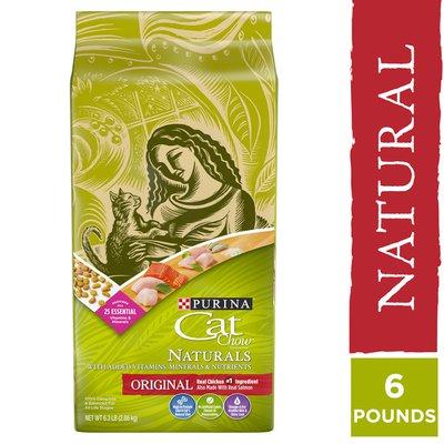 Purina Cat Chow Natural Dry Cat Food, Naturals Original
