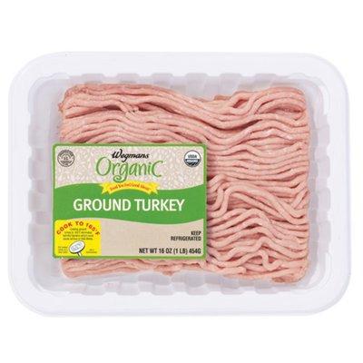 Wegmans Organic Food You Feel Good About Ground Turkey