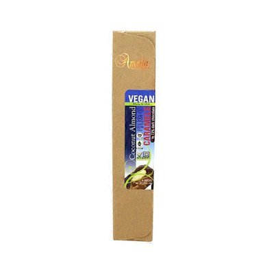 Amella Vegan Coconut Almond Caramels in 72% Dark Chocolate