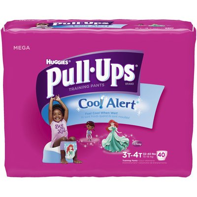 Pull-Ups Cool & Learn Girls 3T-4T Training Pants