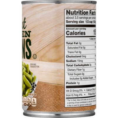 SB Green Beans, Cut, No Salt Added