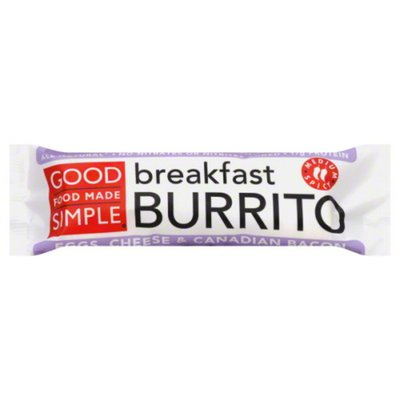 Good Food Made Simple Uncured Canadian Burrito