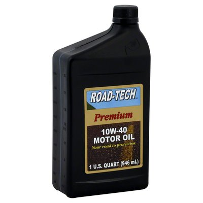 Road Tech Motor Oil, Premium, 10W-40