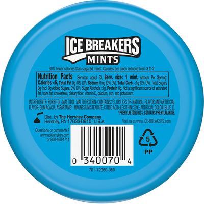 Ice Breakers Mints, Sugar Free, Coolmint