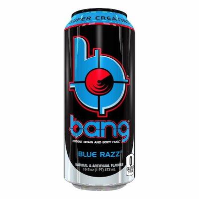 Bang Energy Drink, Blue Razz