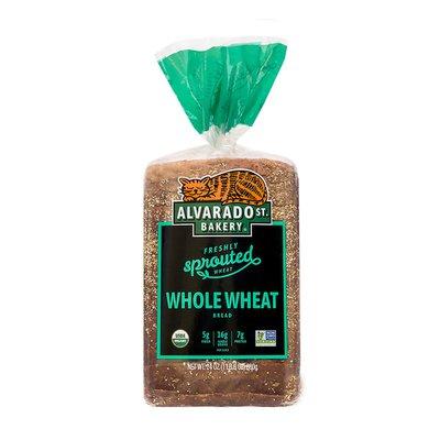 Alvarado St.Bakery Whole Wheat, Wide Loaf