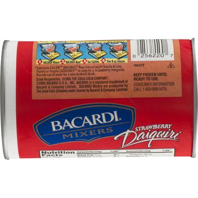 Bacardi Frozen Mixer, Strawberry Daiquiri