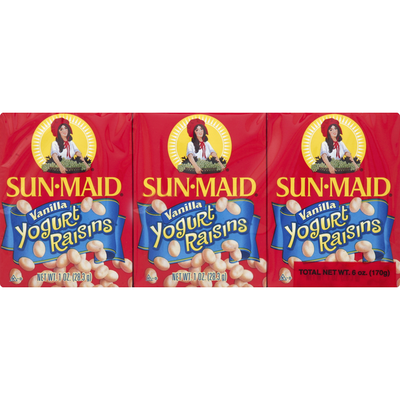 Sun-Maid Vanilla Yogurt Covered Raisins