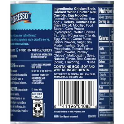 Progresso Traditional, Chicken Noodle Soup