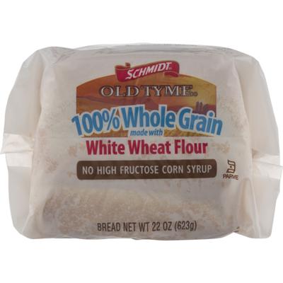 Schmidt's Old Tyme 100% Whole Grain White Wheat Flour Bread