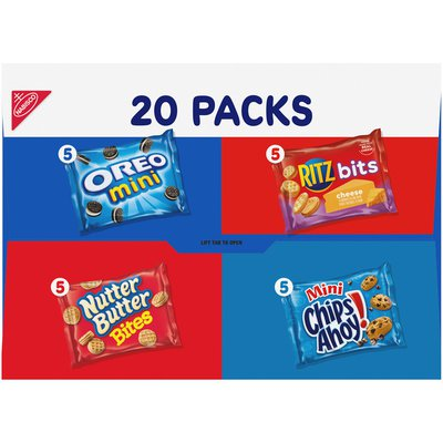 Nabisco Variety Pack Classic Mix Cookies & Crackers, 5 Varieties