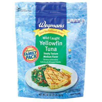 Wegmans Food You Feel Good About Wild Caught Yellowfin Tuna, FAMILY PACK