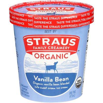 Straus Family Creamery Organic Vanilla Bean Ice Cream